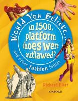 In 1500, Platform Shoes Were Outlawed?