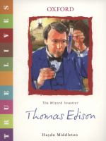 Thomas Edison, the Wizard Inventor