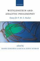 Wittgenstein and Analytic Philosophy