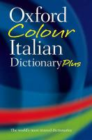 Oxford Colour Italian Dictionary Plus