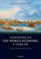 Contours of the World Economy, 1-2030 AD