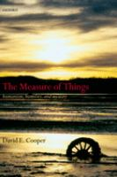 The Measure of Things