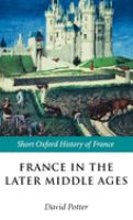France in the Later Middle Ages
