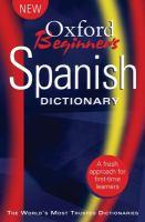 Oxford Beginner's Spanish Dictionary
