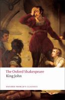 The Life and Death of King John