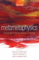 Metametaphysics