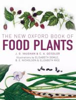 The New Oxford Book of Food Plants