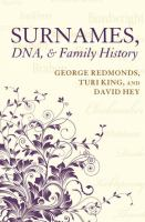 Image: Surnames, DNA, and Family History