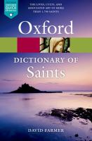 The Oxford Dictionary Of Saints