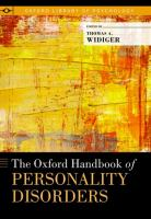 The Oxford Handbook of Personality Disorders