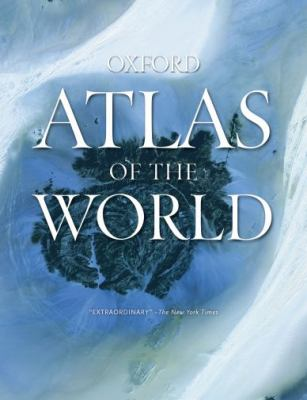 "Picture of the book cover for the ""Oxford Atlas of the World"""