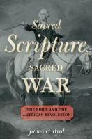 Sacred Scripture, Sacred War