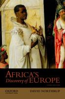 Africa's Discovery of Europe, 1450-1850