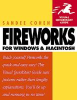 Fireworks for Windows and Macintosh