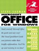 Microsoft Office 2000 for Windows