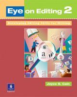 Eye on Editing 2