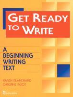 Get Ready to Write