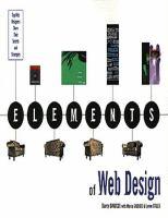 Elements of Web Design