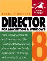 Director 8 for Macintosh and Windows