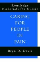 Caring For People In Pain