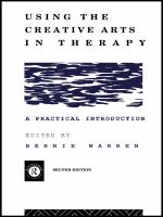 Using the Creative Arts in Therapy
