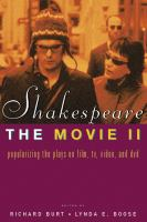 Shakespeare, The Movie, II