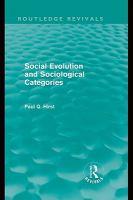 Social Evolution and Sociological Categories