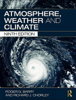 Atmosphere, Weather, and Climate