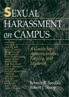 Sexual Harassment on Campus
