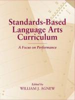 Standards-based Language Arts Curriculum