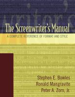 The Screenwriter's Manual