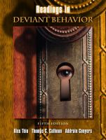 Readings in Deviant Behavior