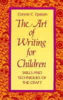The Art of Writing for Children