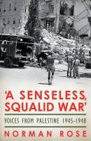 'A Senseless, Squalid War'