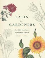 Latin for Gardeners