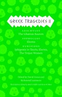 Greek Tragedies