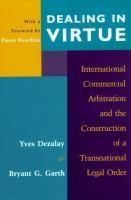 Dealing in Virtue