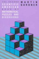 The 2nd Scientific American Book of Mathematical Puzzles & Diversions