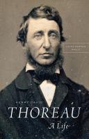 Cover of Henry David Thoreau: A Lif