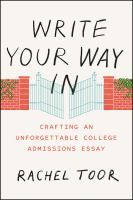 Cover of  Write Your Way In: Crafti