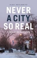 Never A City So Real