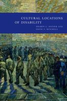Cultural Locations of Disability
