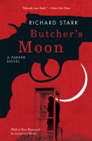 Butcher's Moon, by Richard Stark