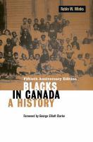 Blacks in Canada