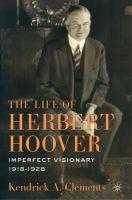 The Life of Herbert Hoover