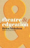 Theatre & Education