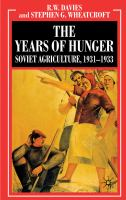 The Years of Hunger