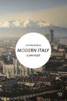 Modern Italy