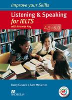 Listening & Speaking for IELTS 4.5-6.0