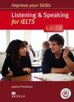 Listening & Speaking for IELTS